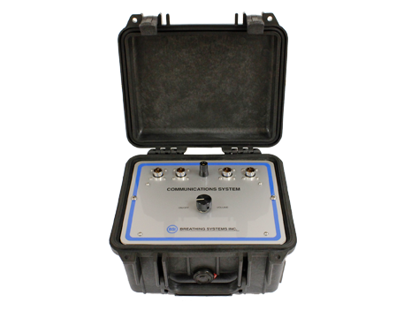 Portable Communication Box Breathing Systems Inc